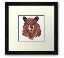 Mr Bear Framed Print