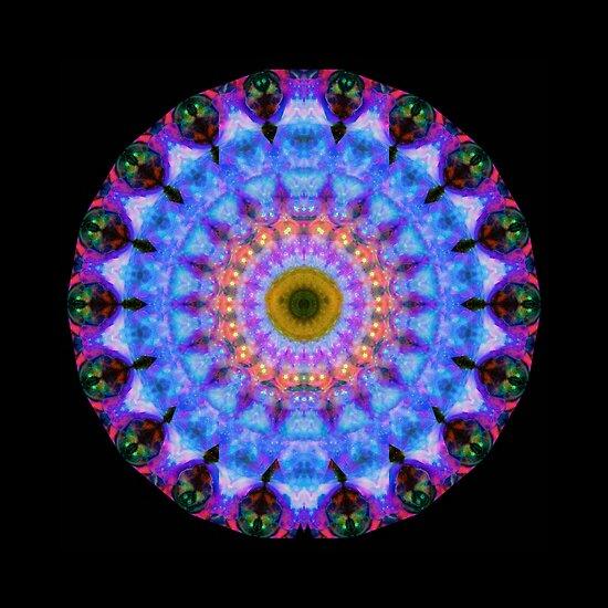 Sacred Crown - Mandala Art By Sharon Cummings by Sharon Cummings