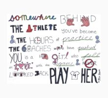 Mia Hamm Quote Art T-Shirt