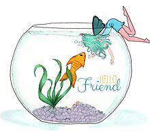 Fish are Friends Card by designedbylaura