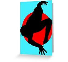 Spider Man Greeting Card