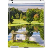 Autumn at Weaver Pond iPad Case/Skin