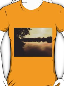 Early morning at the harbour T-Shirt