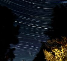 Star Trails by Bill Lane