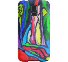 Abstract Forest Samsung Galaxy Case/Skin
