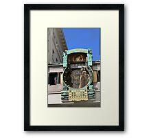 Ankeruhr Framed Print
