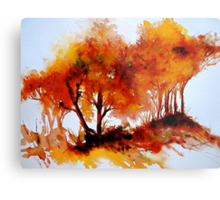 The Trees-Autumn Metal Print