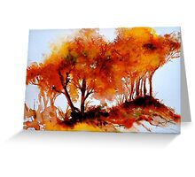 The Trees-Autumn Greeting Card