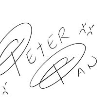 Peter Pan Character Signature by allyonlyweknow