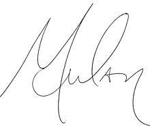 Mulan Signature by allyonlyweknow