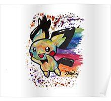 Cute Nyan Pichu Tshirts + More Poster