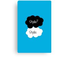 Stydia? Stydia.  Canvas Print