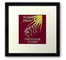 Sunnydale Yearbook 99 Framed Print