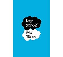 Dylan O'Brien? Dylan O'Brien. Photographic Print