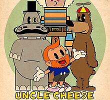 Uncle Cheese by CannibalHippo