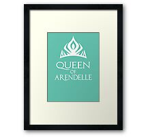 Queen of Arendelle Framed Print