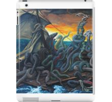 Raft of Reptile Rescue after Gericault iPad Case/Skin
