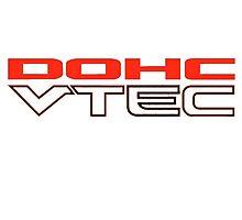 VTEC DOHC Sticker for Honda by fadouli