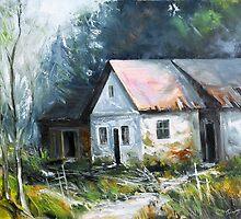 Abandoned farm house by Roman Burgan