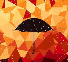 Autumn rain by Aleksander1