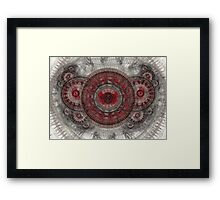 Butterfly engine Framed Print