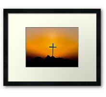 The Christian Cross Framed Print