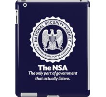 The NSA iPad Case/Skin