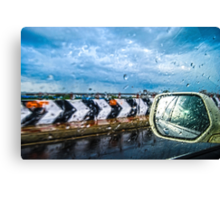 Indian Monsoon Rear view Canvas Print