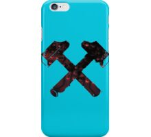 Flame Masonic Hammers iPhone Case/Skin