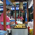 cooking street-lady japan by LisaBeth