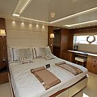 Inside Sunseeker  Yacht  Southampton Boat Show 2014 by Keith Larby