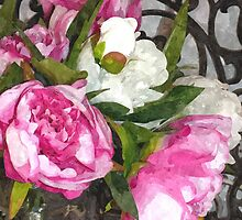 Peonies by madmillie