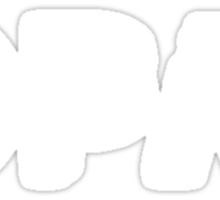 OPM [white, no frame] Sticker