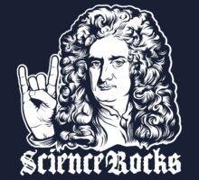 Sir Isaac Newton Science Rocks T-Shirt