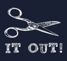 Cut It Out Scissors by TheShirtYurt