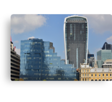 The Walkie Talkie Building Canvas Print