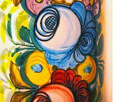 Porcelain Flower Decoration by aurielaki