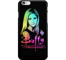 Buffy Multicolored  iPhone Case/Skin