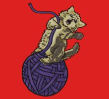 Wrecking Ball Kitty Kids Clothes