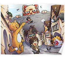 Attack on Kitten! Poster