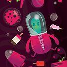 Neon Space by David Wildish
