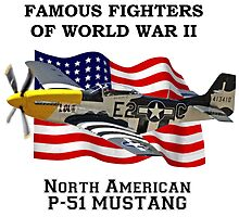Famous Fighters - P-51 Mustang by Mil Merchant