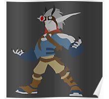 Jak 2 Renegade- Dark Jak Poster