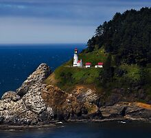 Heceta Head Lighthouse by Ken McDougal