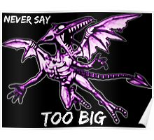 Ridley - Never say too big 3 Poster