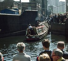 Barge Canal Birmingham England 198405130030 by Fred Mitchell