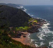 Cape Perpsetua Lookout by Ken McDougal