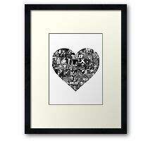 I Heart Disney Framed Print