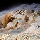 Winter Waves At Waimea Bay 8 by Alex Preiss