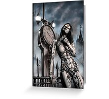 Steampunk Painting 003 Greeting Card
